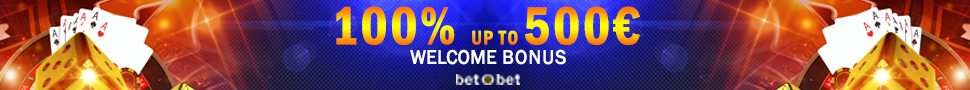 Welcome Casino Bonus BetOBet Banner