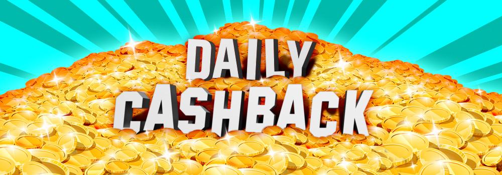 Daily Cashback Casino Offer