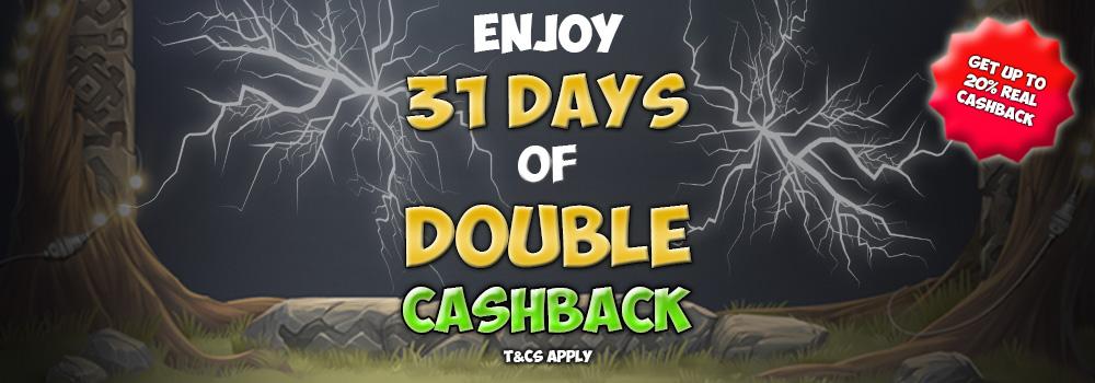 Cashback Slots Racer Promotion Banner
