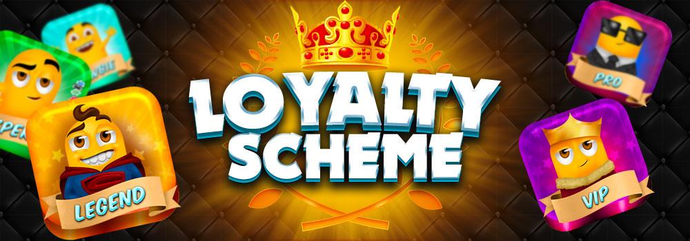 Loyalty scheme Slots Racer Promotion