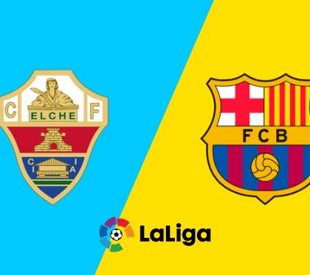 Elche vs Barcelona: Prediction for the final outcome and goals from La Liga