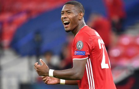 Liverpool have offered  nine million pounds a year to David Alaba