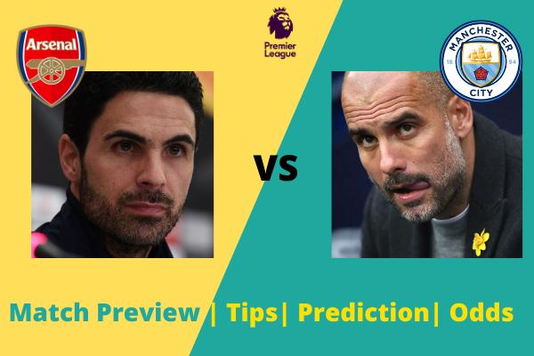 Arsenal vs Manchester City: Premier League goal prediction
