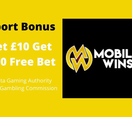Bet 10 Get 30 Free Bet – Sport Welcome Bonus