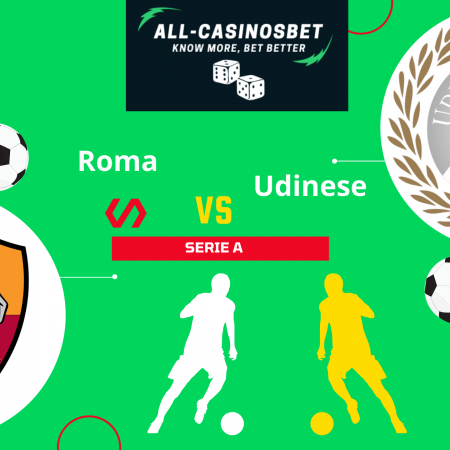 Roma vs Udinese: Serie A goals prediction