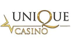 unique casino review logo - 100% Deposit Bonuses