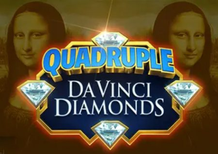 Quadruple Da Vinci Diamonds Slot