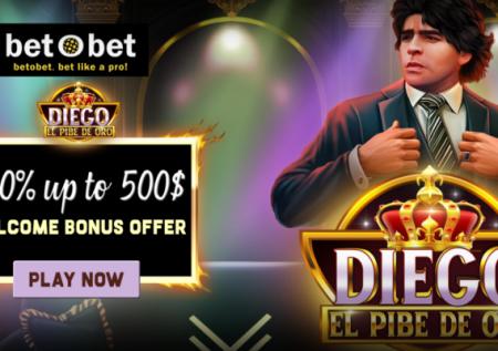 Diego el Pibe de Oro Slot