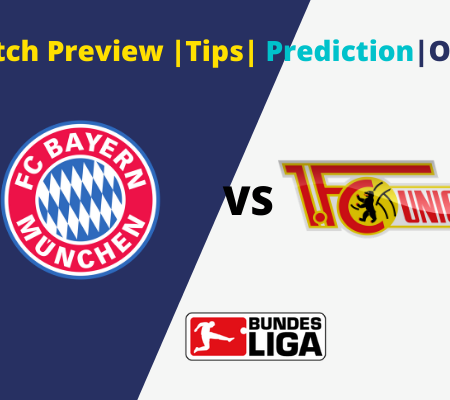 Bundesliga Goals Prediction Bayern Munich vs Union Berlin