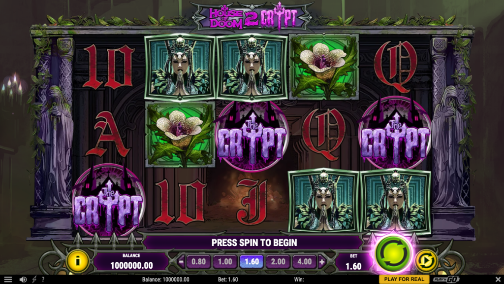 House of Doom 2 The Crypt slot review