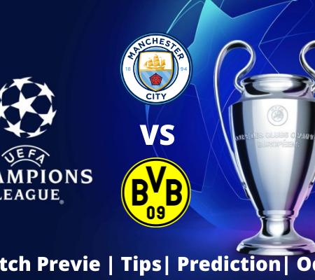 Manchester City vs Borussia Dortmund: Champions League Goal Prediction