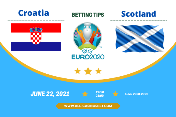 Croatia vs Scotland: Euro 2020 goal prediction