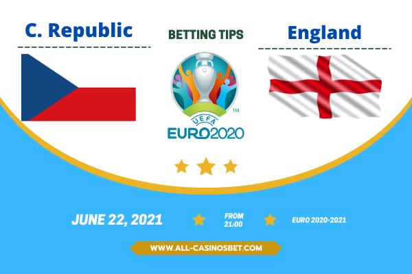 Czech Republic vs England: Euro 2020 goal prediction