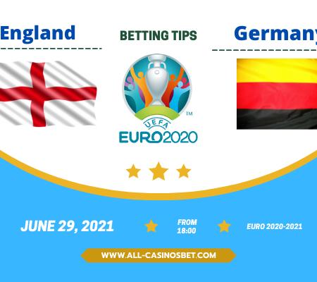 England vs Germany: Euro 2020 goal prediction