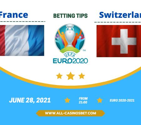 France vs Switzerland: TOP prediction for Euro 2020