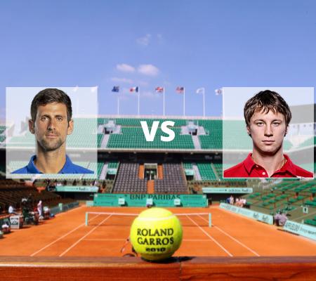 Novak Djokovic vs Ricardas Berankis: Prediction from Roland Garros