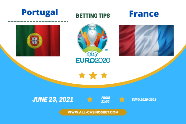 Portugal vs France: Euro 2020 Match and Goals Prediction