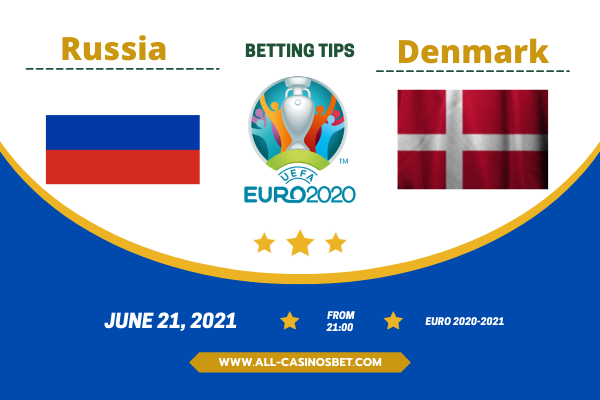Russia vs Denmark: Match prediction