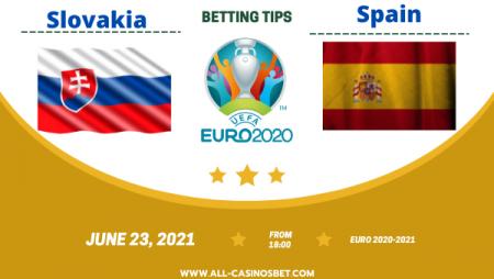 Slovakia vs Spain: match and goals prediction