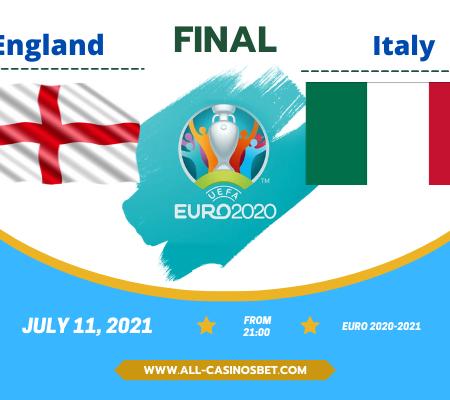 Italy vs England: Prediction for Euro 2020 final