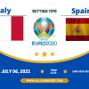 Italy vs Spain: Euro 2020 goal prediction