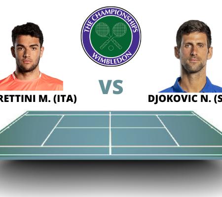 Novak Djokovic vs Matteo Berrettini: Wimbledon Final Prediction