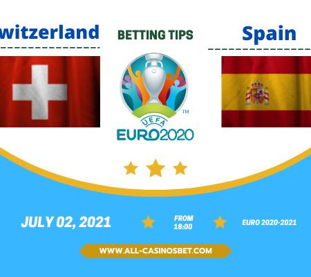 Switzerland vs Spain: Euro 2020 goal prediction