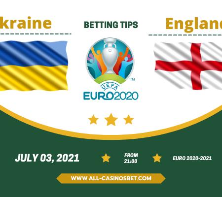 Ukraine vs England: Euro 2020 prediction