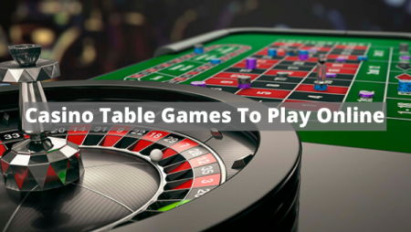 What Casino Table Games To Play Online