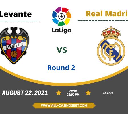 Levante vs Real Madrid: Prediction from La Liga