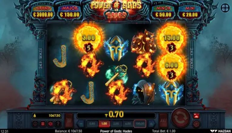 Power of Gods Hades Slot Review