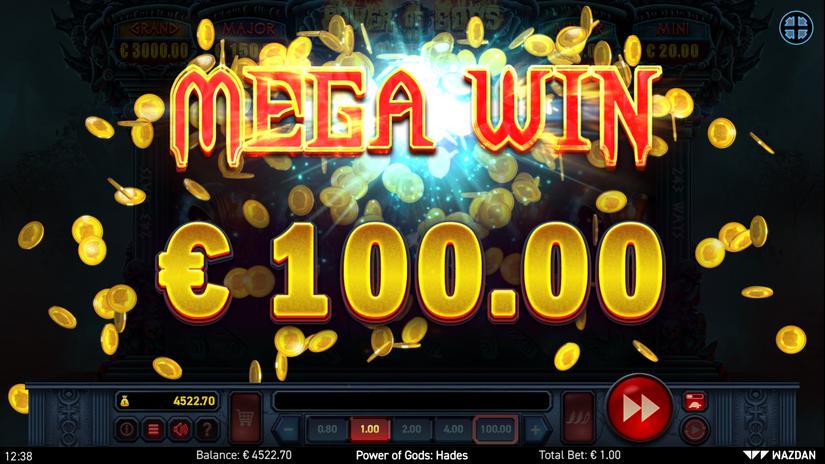 Power of Gods: Hades Slot Mega Win