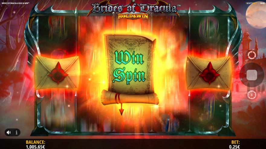 Brides of Dracula Slot Hold & Win Game